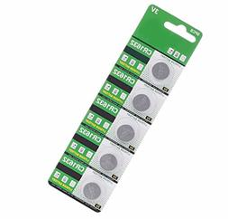 AOR Power 3 Volt Lithium CR1632 Coin Battery, 5 Pack