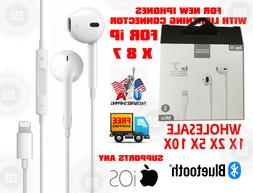 Lot  Earbuds Earphones  Headphones For Apple iPhone X 7 8 +