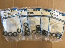 "Lot Of 5 Watts Water Heater Connector Washers 3/4"" HCWBA P"