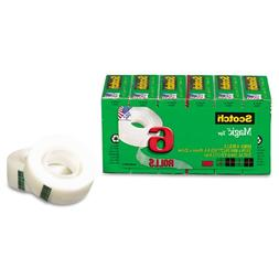 "Scotch Magic Tape Refill, 3/4"" X 1000"", 6/Pack, Case of 2 Pa"