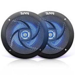 Pyle Marine Speakers - 5.25 Inch 2 Way Waterproof and Weathe