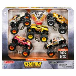 MAX-D MAXIMUM DESTRUCTION Monster Jam Retro Edition 5 Pack T