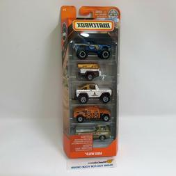 MBX Wild w/ Dodge  A100 *  5 Pack *  NEW!! 2019 Matchbox