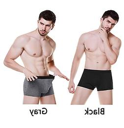 ASERLIN Men's 5 Pack Boxer Briefs Short Legs Underwear Men's