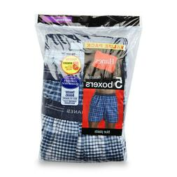 Hanes Men's 5-Pack Boxer Shorts Comfort Flex - Value Packs