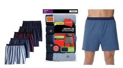 Hanes Men's 5-Pack Classics Comfort Soft Waistband Knit Boxe