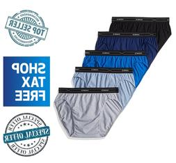 Hanes Men's 5-Pack X-Temp Low Rise Sport Brief Cotton/Polyes