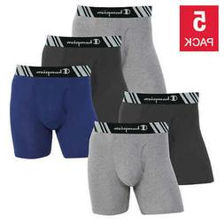 Champion Men's Boxer Briefs 5-pack - MIXED COLORS   FAST SHI