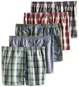 Fruit of the Loom Men's Boxers LOW RISE 5 or 10 pack 2XL , 3