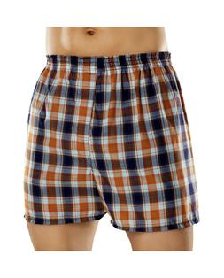 Fruit of the Loom Men's Plaid Woven Boxers Big Sizes  2x-3x