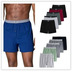 Fruit of the Loom, Men's Soft Stretch-Knit Boxer Multipack,