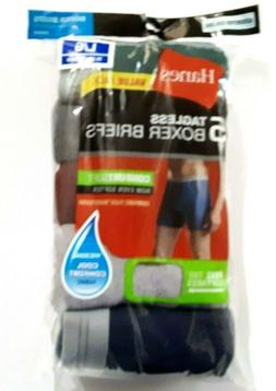Hanes Mens Boxer Briefs Size Large 5 Pack Assorted Colors Ta