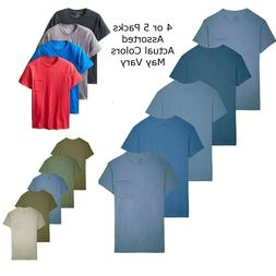 Fruit of the Loom Mens Pocket Crew T-Shirt Assorted Color Te