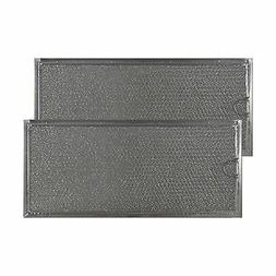 """MICROWAVE ALUMINUM MESH GREASE FILTER 5-7/8"""" X 13-3/8"""" X 3/3"""