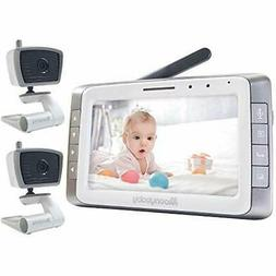 MoonyBaby Monitors 5&quot Large LCD Two Cameras Pack Video L