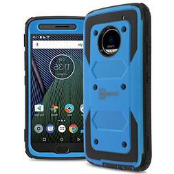 Moto G5 Plus Case, Moto X 2017 Case, CoverON  Tough Hybrid H