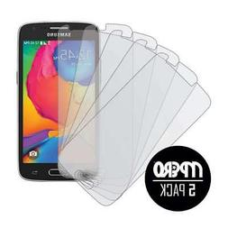 MPERO 5 Pack of Matte Anti-Glare Screen Protectors for Samsu