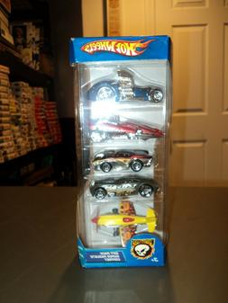 NEW 2004 Hot Wheels 5 Pack G6918 Gift Pack Super Paquete Cof