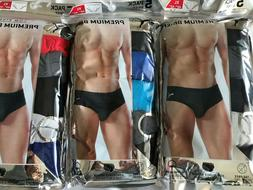 NEW Puma 5 Pack Mens Premium Low Rise Briefs Men's Underwear