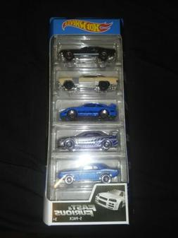 NEW Hot Wheels Fast & Furious 5 Pack Set Sealed Unopened