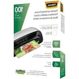 New Fellowes 5743501 Thermal Laminating Pouches, 100 pk