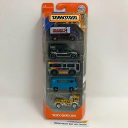 NEW!!  Service Crew w/ Blue VW Van *  5 Pack *  2019 Matchbo