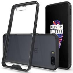 OnePlus 5 Clear Case, CoverON ClearGuard Series Hard Slim Fi