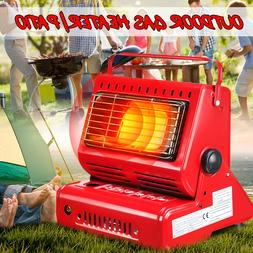 Outdoor Portable Space Gas Heaters Cooking Grill Barbecue Ca