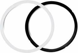 Pack of 2 Silicone Sealing Rings for Instant Pot 5 6 Quart F