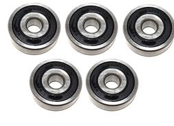 Pack of 5 6300-RS C3 Premium Sealed Ball Bearing 10x35x11mm