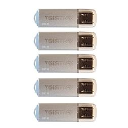 Patriot 8GB Pulse Series USB 2.0 Flash Drive - 5 Pack