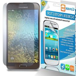 For Samsung Galaxy E5 Screen Protector 3 Pack Clear LCD Cove