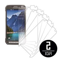 Samsung Galaxy S5 Active Screen Protector Cover, MPERO 5 Pac