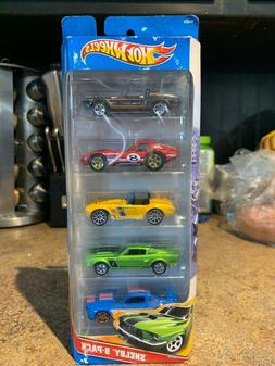 Hot wheels Shelby 5 pack 2010