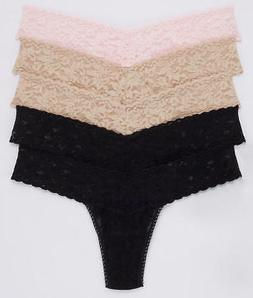 Hanky Panky Signature Lace Low Rise Thong 5-Pack Panty - Wom