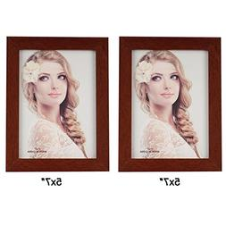 Leoyoubei Simple 2-Pack Frame Photo Frame Desktop Or Wall Ha