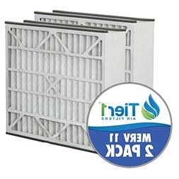 Skuttle 16x25x5 Merv 11 Replacement AC Furnace Air Filter