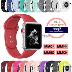 sport silicon watch band strap for apple