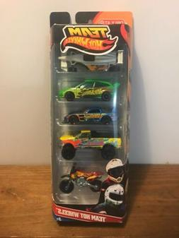 Team Hot Wheels Target Exclusive 5 Pack Hot Wheels Cars