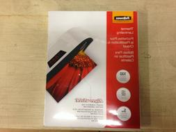 "Fellowes Thermal Laminating Pouches CRC52230 9"" x 11.5"" Lett"