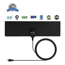 HDTV Antenna, MIESCHER Indoor Digital TV Antenna  and 10ft C