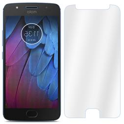 Twin Pack for Motorola Moto G5S Plus Clear Tempered Glass Sc