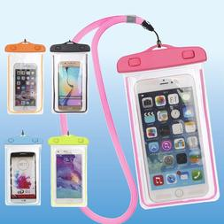 Underwater Waterproof Bag Pack Dry Phone Pouch Clear Case Fo