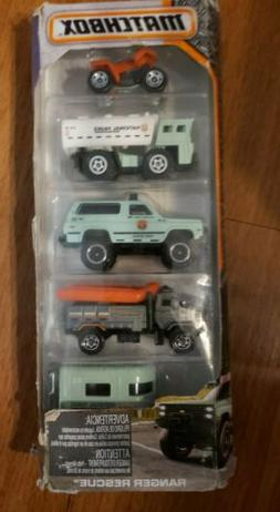 Matchbox US Forest Service Park Police Wildland Fire Trucks
