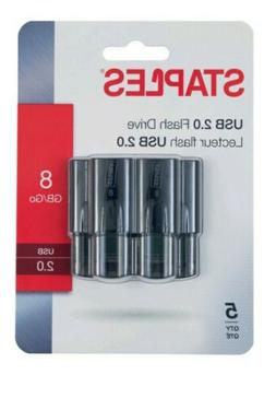 Usb 2.0 Flash Drive 8gb there is 5 per pack.