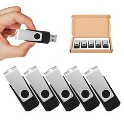 TOPSELL 5 Pack 32GB USB Flash Drives Flash Drive Flash Memor
