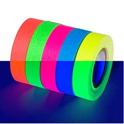 5-Pack SUPER BRIGHT UV Blacklight Reactive Fluorescent / Neo