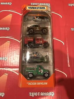 Wildfire Rescue 2019 Matchbox 5 Pack