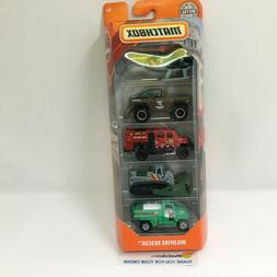 Wildfire Rescue  5 Pack *  2019 Matchbox