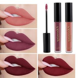 Women 12 Color Liquid Matte Waterproof Lipstick Lasting Lip